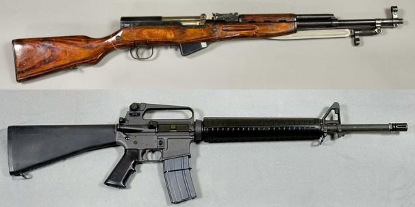 SKS vs AR15
